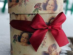 Мини МК. Как красиво сложить треугольную шаль для подарка | Ярмарка Мастеров - ручная работа, handmade