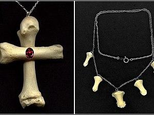 Украшения из человеческих костей Коломбины Феникс. | Ярмарка Мастеров - ручная работа, handmade