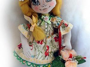 Аукцион!!!! Девочка- Весна | Ярмарка Мастеров - ручная работа, handmade