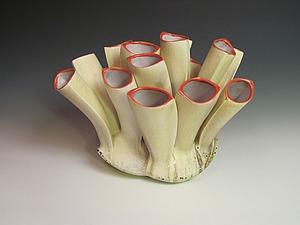 Сюрреалистичные формы в керамике Deborah Schwartzkopf. Ярмарка Мастеров - ручная работа, handmade.