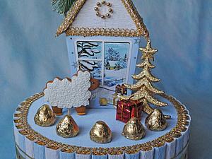 Аукцион на сладкий домик! До 14.00 24.12. | Ярмарка Мастеров - ручная работа, handmade