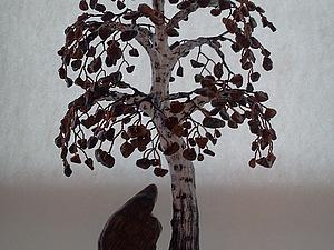 Делаем берёзу из декоративных камней и проволоки. Ярмарка Мастеров - ручная работа, handmade.