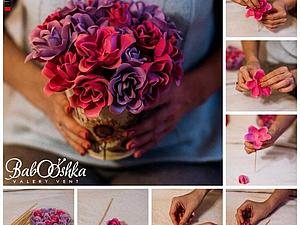 Букет цветов из мыла   Ярмарка Мастеров - ручная работа, handmade