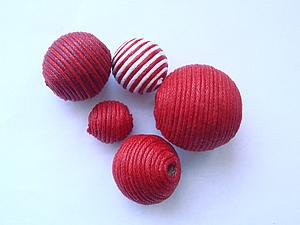 Наборы бусин оклеенных жгутом   Ярмарка Мастеров - ручная работа, handmade