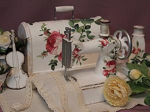 Реставрируем и декорируем детскую швейную машинку времен СССР. Ярмарка Мастеров - ручная работа, handmade.