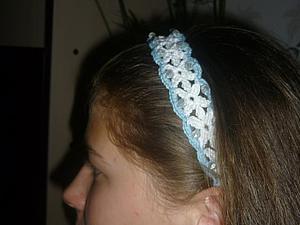 Мастер-класс: вязаная повязка-ободок на голову. Ярмарка Мастеров - ручная работа, handmade.