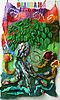 Войлочная сказка Дерево-осьминог | Ярмарка Мастеров - ручная работа, handmade