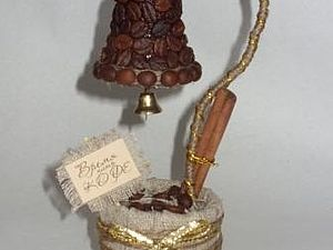 Кофейное дерево-колокольчик. Ярмарка Мастеров - ручная работа, handmade.