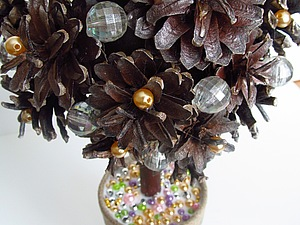 Новогоднее чудо-дерево | Ярмарка Мастеров - ручная работа, handmade