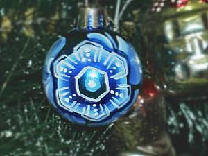 Роспись новогоднего шара. Ярмарка Мастеров - ручная работа, handmade.