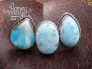 Ларимар — удивительный редкий камень с частичкой моря... | Ярмарка Мастеров - ручная работа, handmade