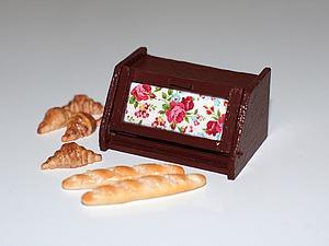 Видео мастер-класс: как сделать хлебницу в кукольный домик. Ярмарка Мастеров - ручная работа, handmade.
