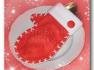 Изюминка вашего новогоднего стола - варежка