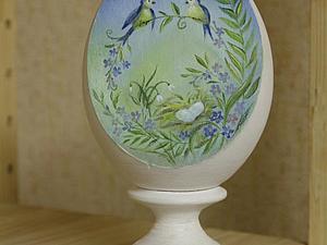 Светлый дар весны: художественная роспись пасхального яйца | Ярмарка Мастеров - ручная работа, handmade
