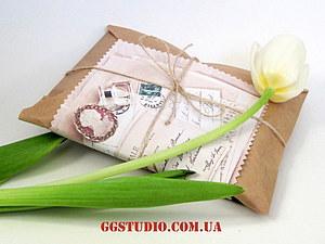 Упаковка наших блокнотов - стильно и экологично!   Ярмарка Мастеров - ручная работа, handmade