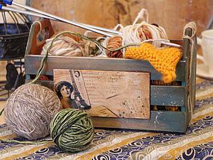 Мастер-класс: создаем красивый и уютный ящичек для любимого хобби. Ярмарка Мастеров - ручная работа, handmade.