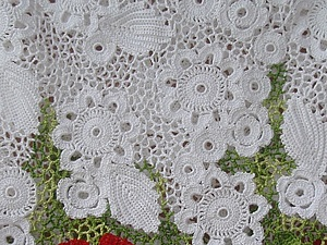 Мастер-класс по вязанию нерегулярной сетки в ирландском кружеве.   Ярмарка Мастеров - ручная работа, handmade