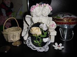 Создаем брошь в винтажном стиле с розами. Ярмарка Мастеров - ручная работа, handmade.