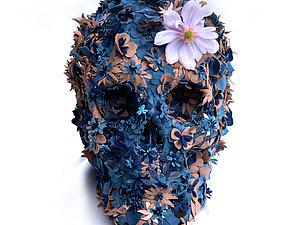 Жутко цветочные черепа Jacky Tsai | Ярмарка Мастеров - ручная работа, handmade