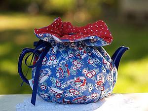 Хранительница чайного тепла для влюблённых в чай | Ярмарка Мастеров - ручная работа, handmade