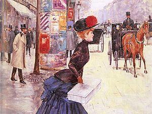 Прекрасная эпоха моды в картинах Жана Беро | Ярмарка Мастеров - ручная работа, handmade