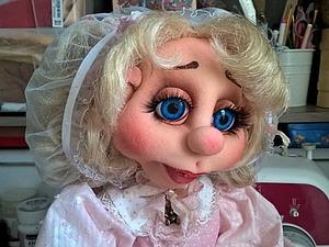 Шьем чепчик для куклы. Ярмарка Мастеров - ручная работа, handmade.