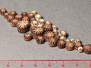Изготавливаем этнобусины из веточек рябины | Ярмарка Мастеров - ручная работа, handmade