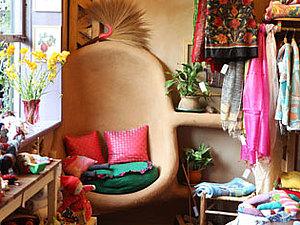 Сказочные дома из самана | Ярмарка Мастеров - ручная работа, handmade