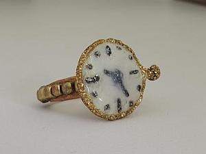 Делаем кольцо «Часики» в стиле стимпанк. Ярмарка Мастеров - ручная работа, handmade.