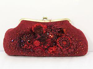 Приглашаю 26 и 27 февраля в 11:00 на МК по созданию сумки в технике фьюжен: валяние & фриформ:   Ярмарка Мастеров - ручная работа, handmade