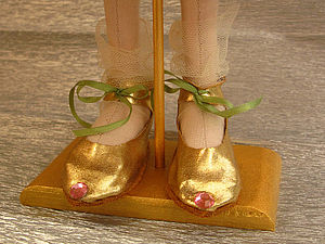 Туфельки для маленькой Принцессы (мастер класс) | Ярмарка Мастеров - ручная работа, handmade