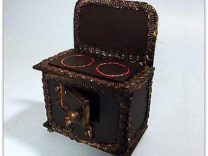 Мастерим миниатюрную чугунную печку. Ярмарка Мастеров - ручная работа, handmade.