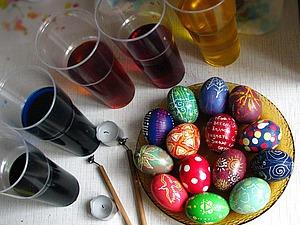 Мастер-класс по росписи пасхальных яиц воском. Ярмарка Мастеров - ручная работа, handmade.