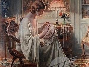 Образ рукодельницы в живописи | Ярмарка Мастеров - ручная работа, handmade
