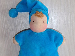 Вальдорфская кукла маленький гномик (мягконабивной или крупяной) | Ярмарка Мастеров - ручная работа, handmade