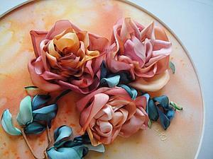 Объемные розы с Ю.Чащихиной   Ярмарка Мастеров - ручная работа, handmade