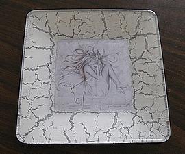 Декоративная тарелка «Сон». Ярмарка Мастеров - ручная работа, handmade.