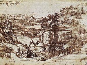 Рисунки и чертежи Леонардо да Винчи | Ярмарка Мастеров - ручная работа, handmade