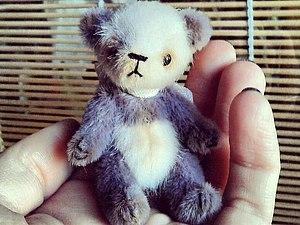 Миниатюрный мишка Тедди. Однодневный мастер-класс. | Ярмарка Мастеров - ручная работа, handmade