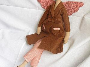 Мастер-класс по пошиву куклы «Банный ангел». Часть 1. Ярмарка Мастеров - ручная работа, handmade.