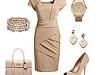 Бежевый цвет. Платье: как выглядеть стильно и привлекательно?