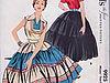 Patio dress в моде 50-х годов