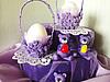 Подготовка к Пасхе. Подставка под яйцо из яичной кассеты.