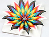Бумажная радуга: невероятные инсталляции Jen Stark