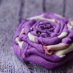 Эффектные украшения от насыщенного фиолетового до нежных лавандовых оттенков