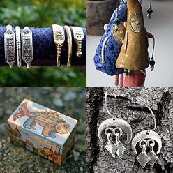 Подборки самых разных предметов в скандинавском духе