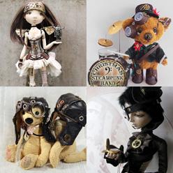 Трогательный стимпанк: куклы и игрушки