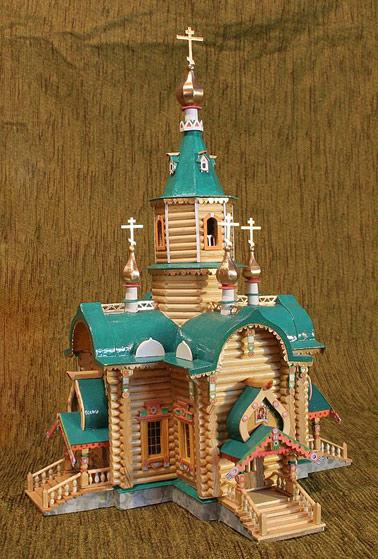 Церковь поделки картинки
