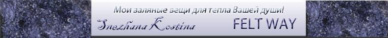 Снежана Костина  (FELT WAY)