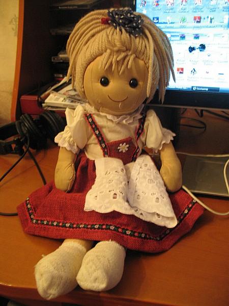 Как сшить своими руками тряпичную куклу фото